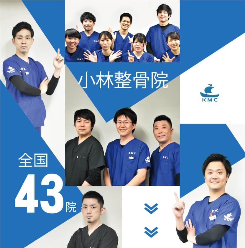 小林整骨院グループは35年以上の実績を持っています。